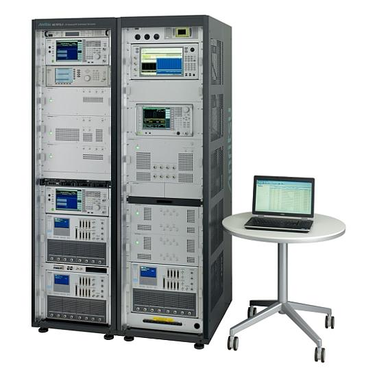Système de test de conformité RF LTE-Advanced ME7873LA d'Anritsu