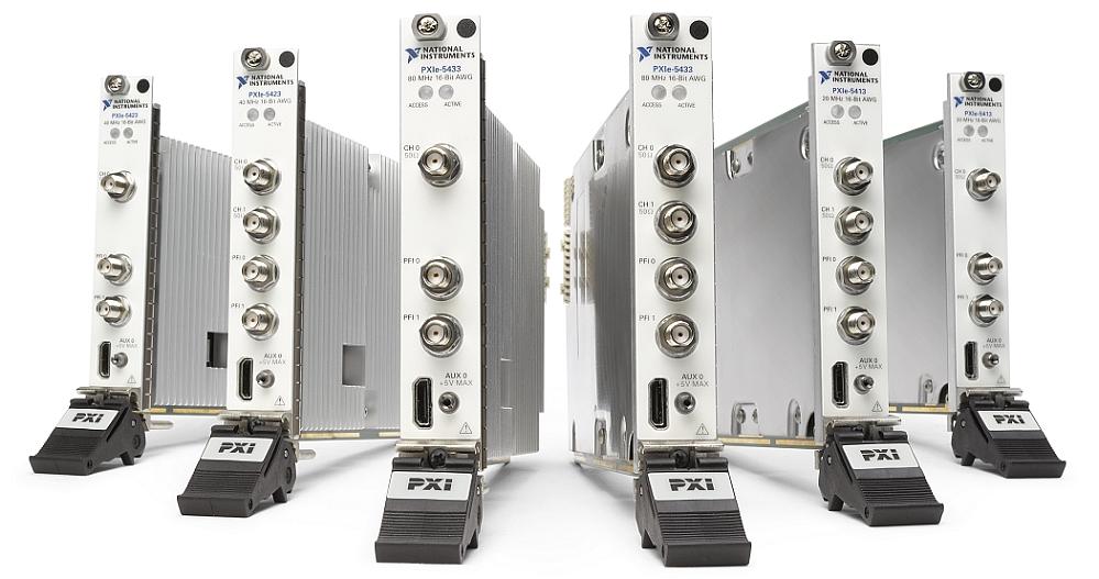 Gamme PXIe-54x3 de générateurs arbitraires de National Instruments