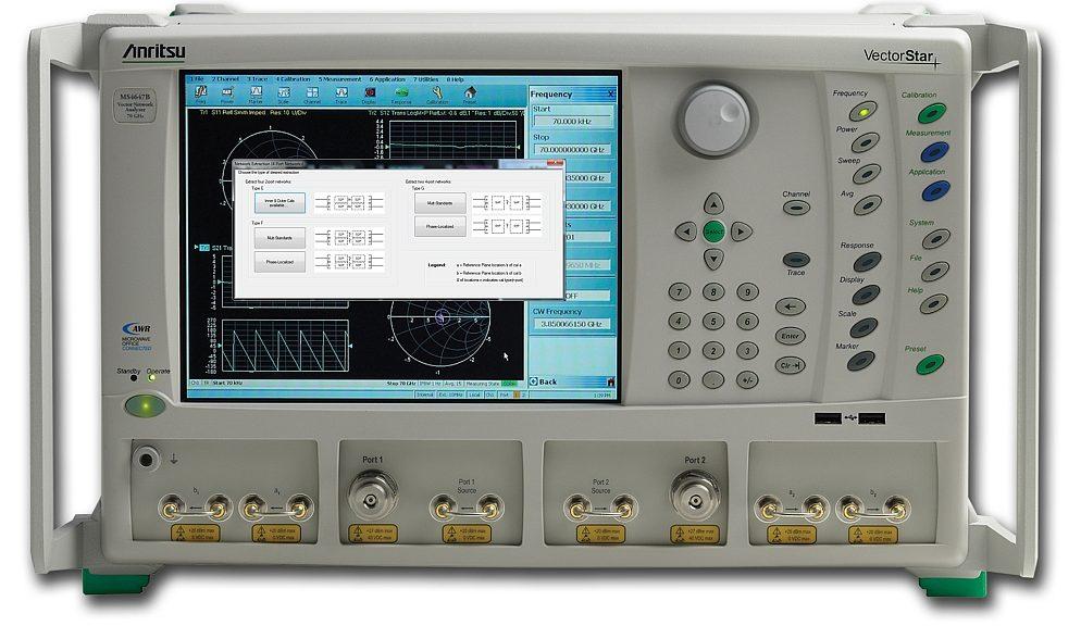 Option UFX pour les analyseurs de réseaux vectoriels VectorStar d'Anritsu