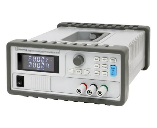 Alimentation DC programmable de la série 62000L de Chroma