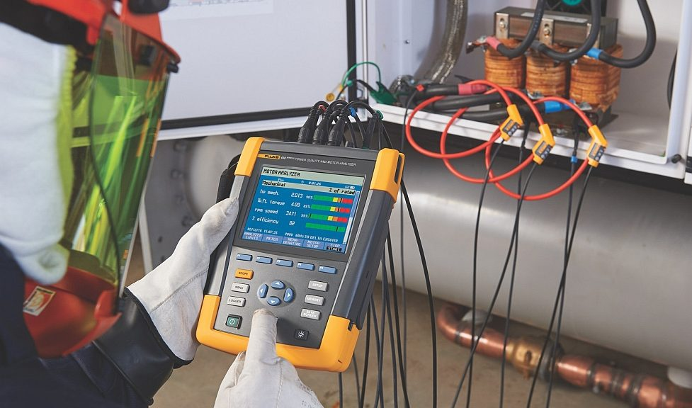 Analyseur de moteur et de puissance électrique Fluke 438-II