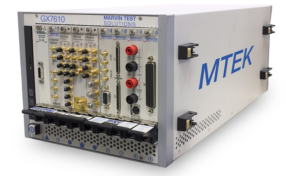 Solution PXI d'extension des systèmes de tests MTEK (Marvin Test Expansion Kit)