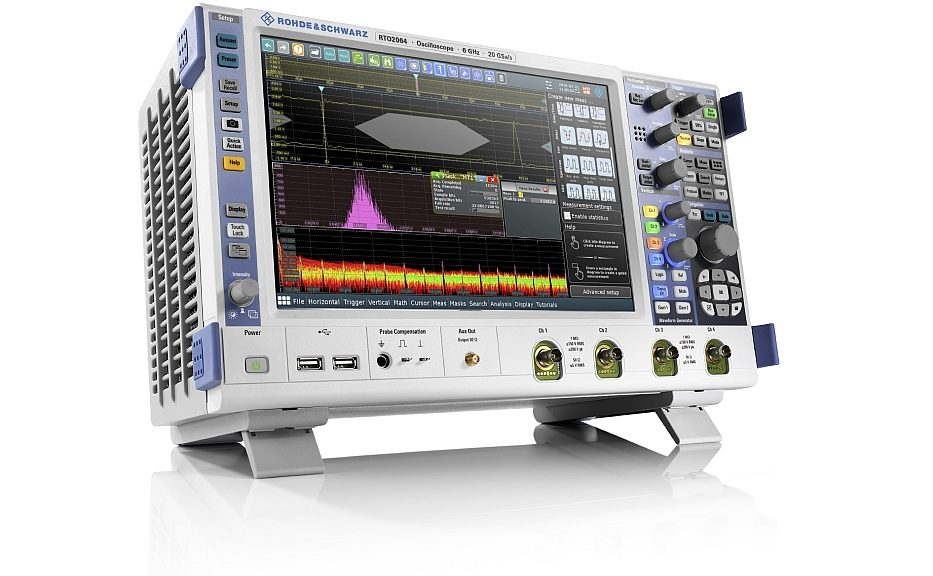 Oscilloscope de la gamme R&S RTO2000 de Rohde & Schwarz