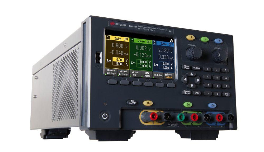 La série E36300 d'alimentations DC programmables à triple sortie de Keysight