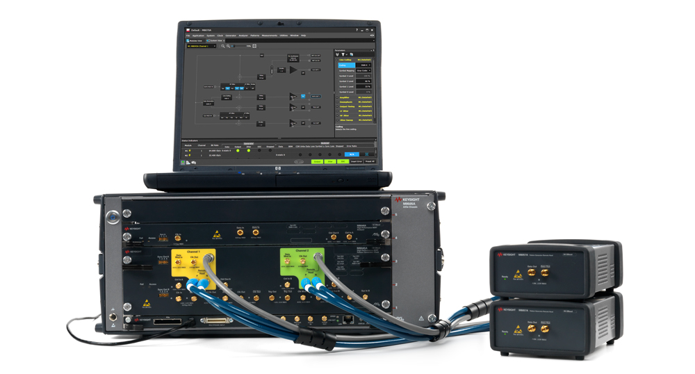 Solution de test BER M8040A au format AXIe de Keysight