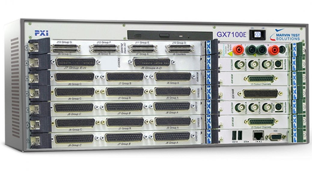 Châssis PXIe GX7100e de Marvin Test Solutions