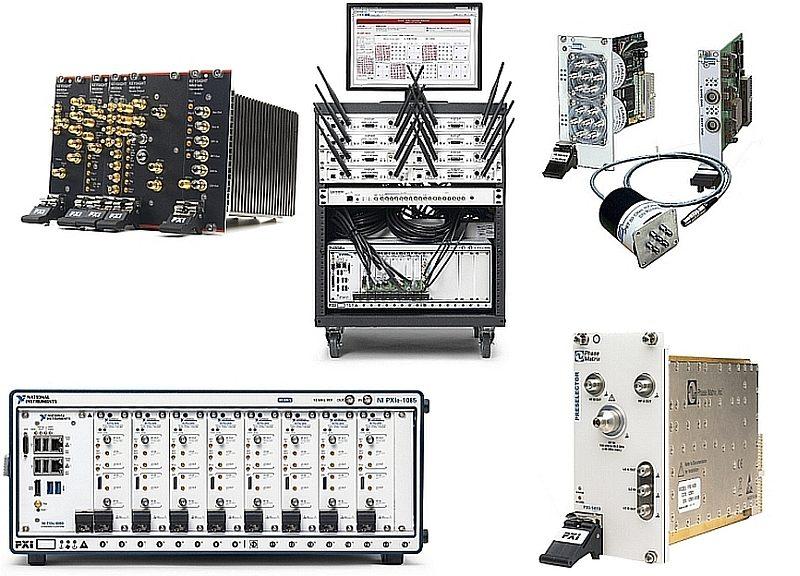 Modules Instruments au format PXI pour test RF