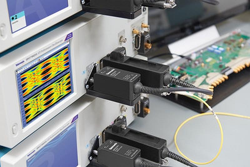 Solution d'analyse optique PAM4 DPO7OE1 de Tektronix pour oscilloscopes temps réel