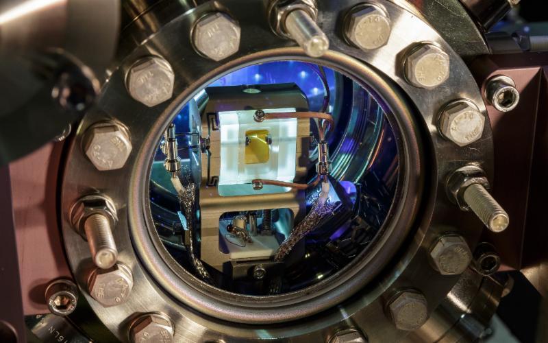 Le piège à ions de l'Institut d'optique quantique et d'information quantique de l'Université d'Innsbruck, en Autriche