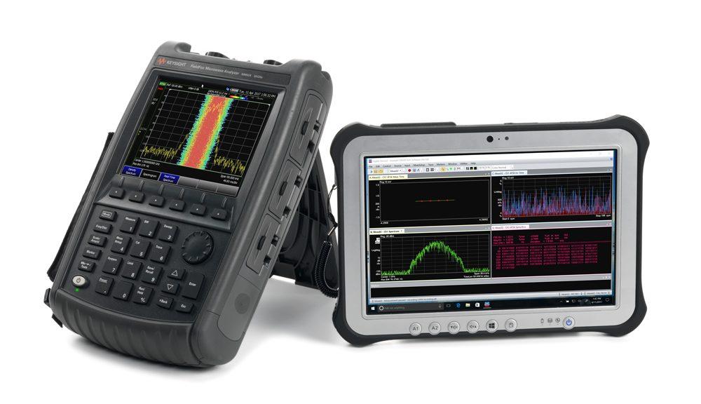 Analyseurs de signaux RF portables de la gamme FieldFox de Keysight