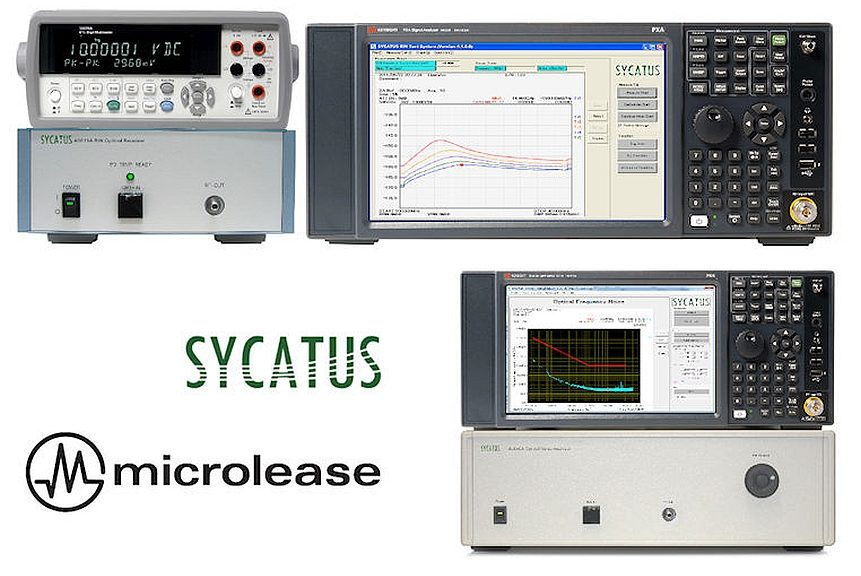 Microlease distribue les solutions de test optique de Sycatus
