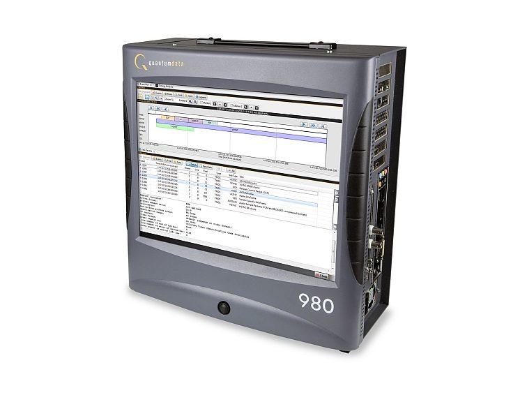 Plate-forme modulaire de série quantumdata 980 de Teledyne LeCroy pour l'analyse des protocoles HDMI, MHL et DisplayPort.
