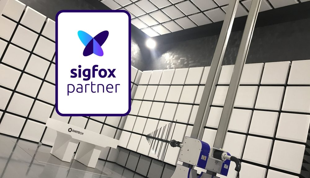 Le laboratoire d'essais Emitech labellisé Sigfox Partner