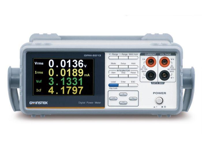 Wattmètre GPM-8213 de GW Instek pour les mesures de puissance AC monophasée