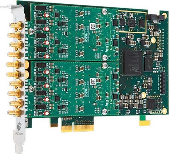 Numériseur PCIe 16 bits de la série M2p 59xx de Spectrum