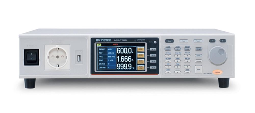 Alimentations AC programmables de la série APS-7000 de GW Instek