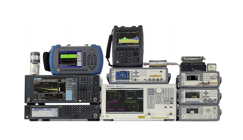 Gamme d'instruments test RF de Keysight.