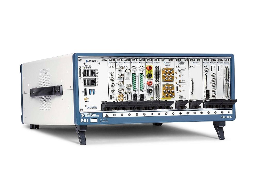 Châssis PXIe-1095, 18 slots et 58W, de National Instruments