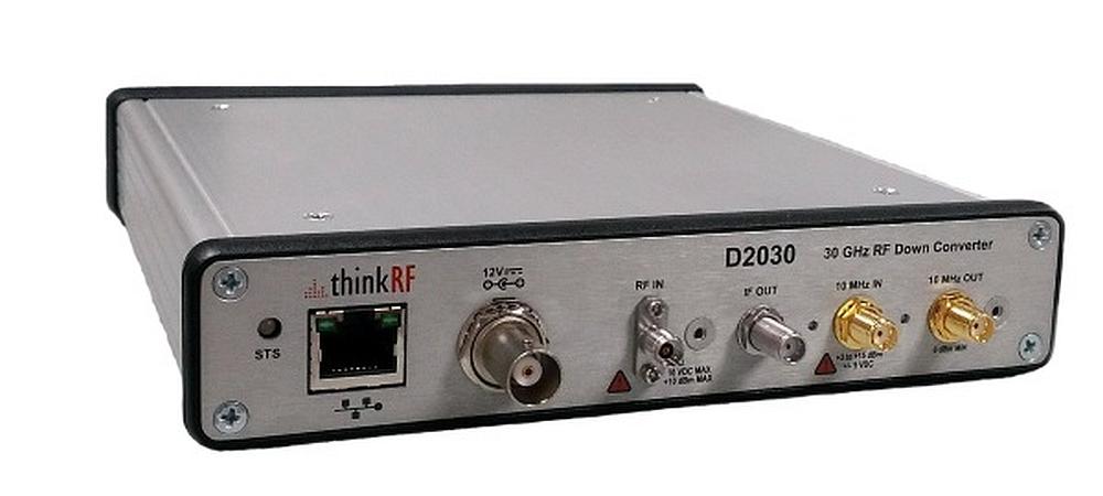 Abaisseur de fréquence Downconverter ThinkRF D2030 pour les signaux 5G