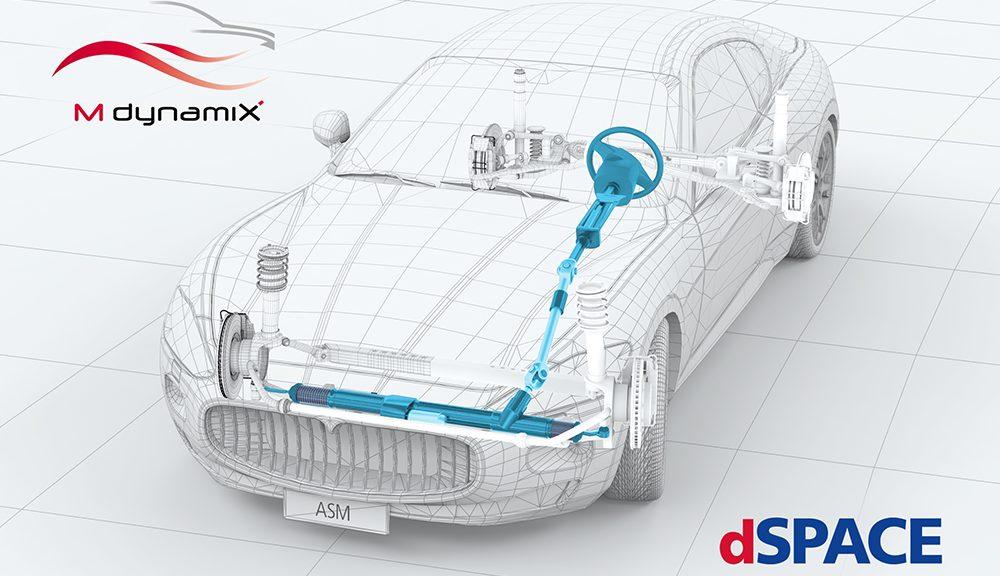 MdynamiX et dSpace collaborent pour le développement et de tests des systèmes de direction électriques