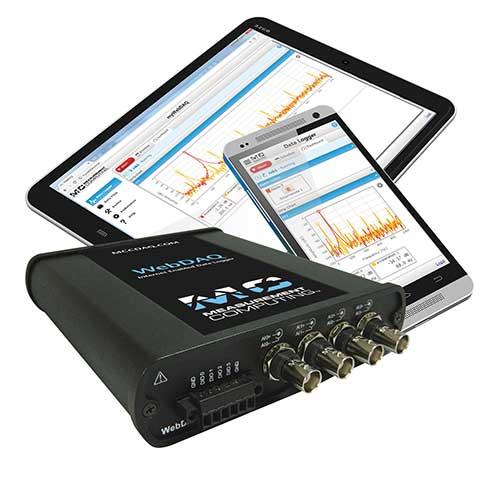 Enregistreur autonome WebDAQ 504 de Measurement Computing