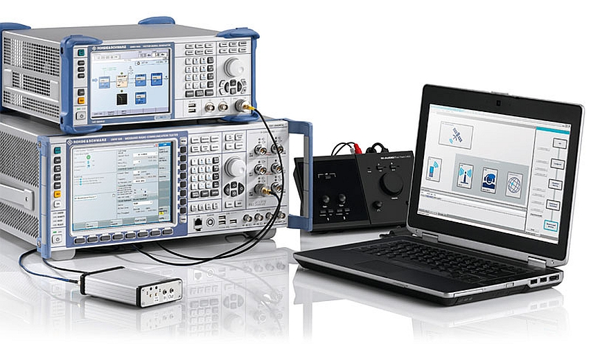 Solution de test de modules eCall de Rohde & Schwarz