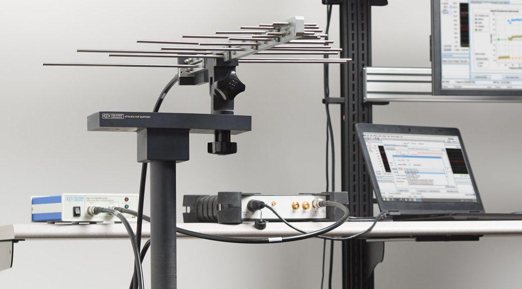 Logiciel EMCVu pour test CEM avec analyseur de spectre RSA306B de Tektronix