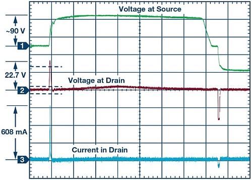 Fonctionnement d'un système de protection suite à une onde de choc