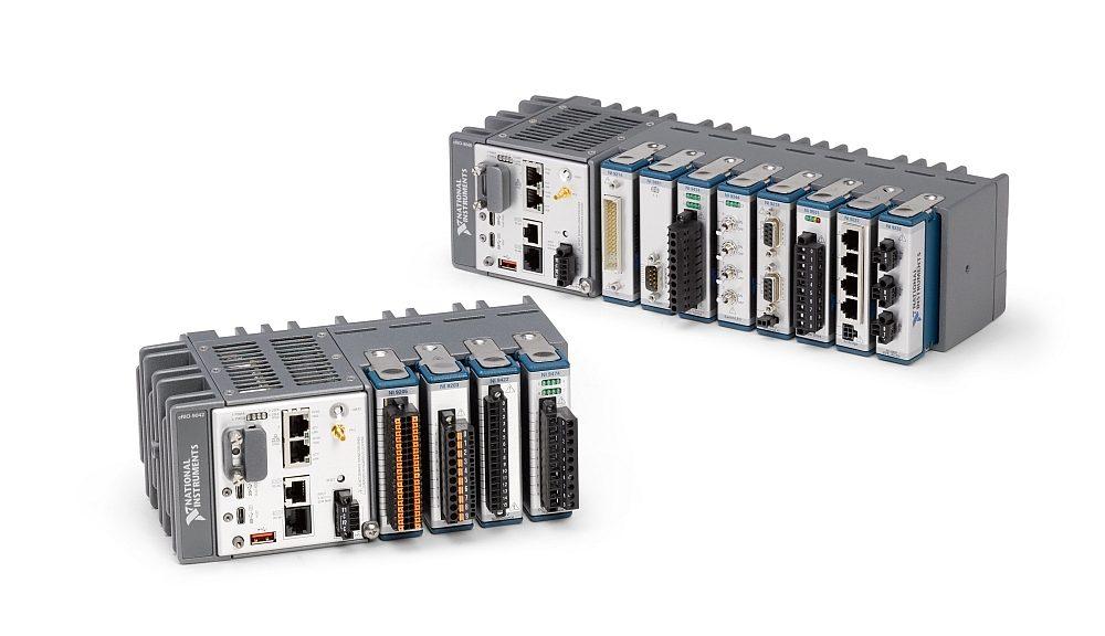 Contrôleurs CompactRIO de National Instruments dotés du driver NI-DAQmx et de la technologie de synchronisation TSN