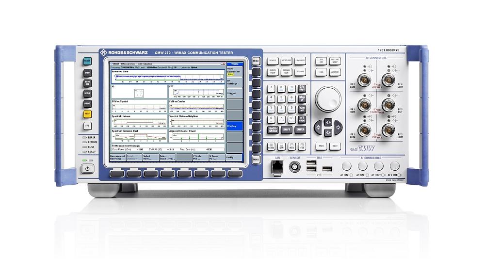Testeur de radiocommunications R&S CMW270 de Rohde & Schwarz