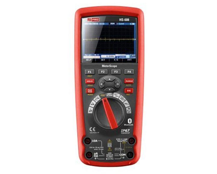 Multimètre portable RS Pro HS608 MeterScope