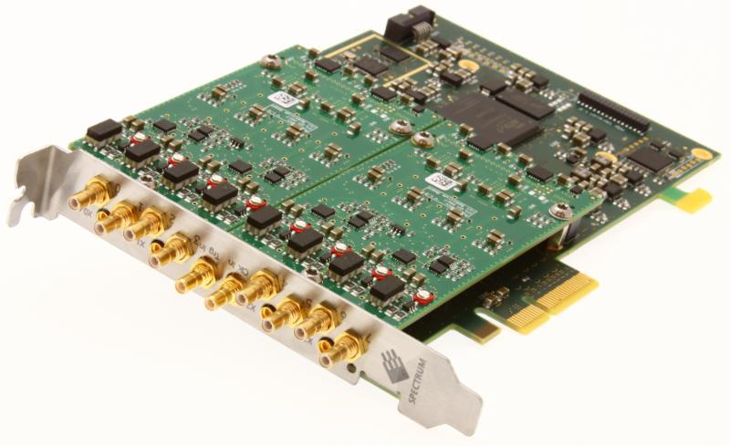 Numériseurs PCI Express M2p.59xx de Spectrum