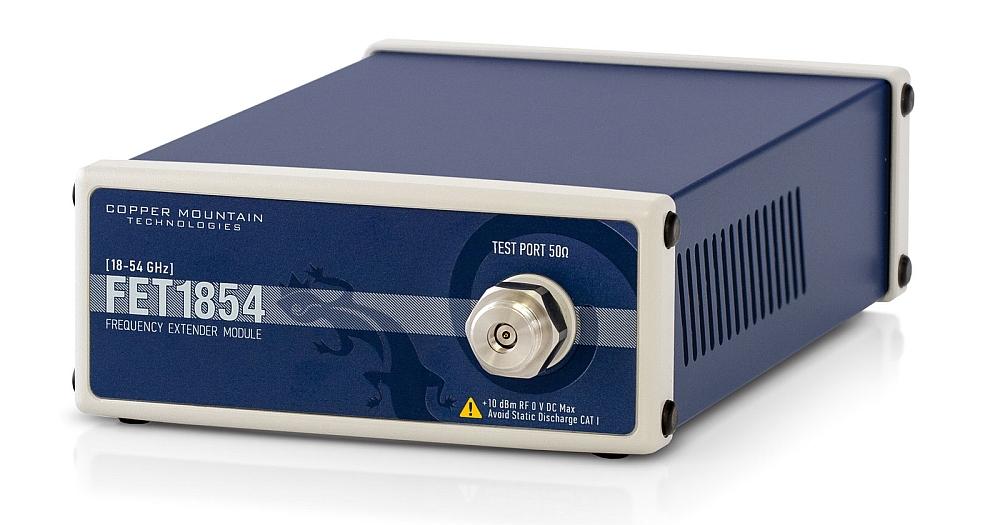 Système d'extension en fréquences FET1854 de Copper Mountain pour les tests 5G