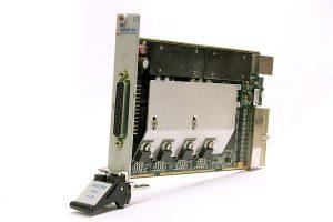 Module SMU au format PXI de la série GX3104 de Marvin Test Solutions.