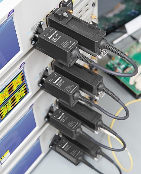 Sonde optique DPO7OE2 400G PAM4 56GBaud de Tektronix