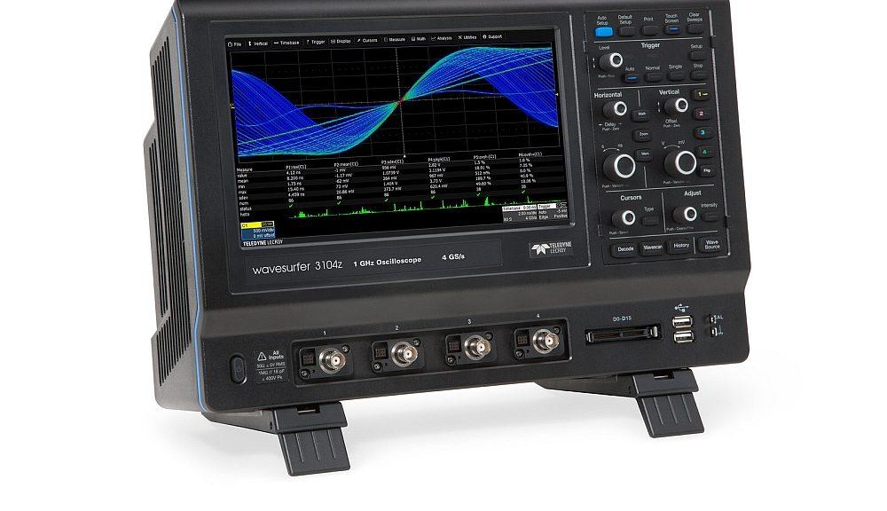 Oscilloscope 4 voies WaveSurfer 3000z de Teledyne LeCroy