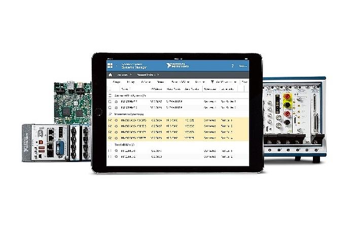 Logiciel SystemLink de National Instruments (NI) pour la gestion des systèmes distribués.
