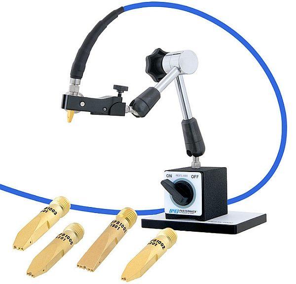 Sondes RF coaxiales et leur positionneurs articulé de Pasternack.