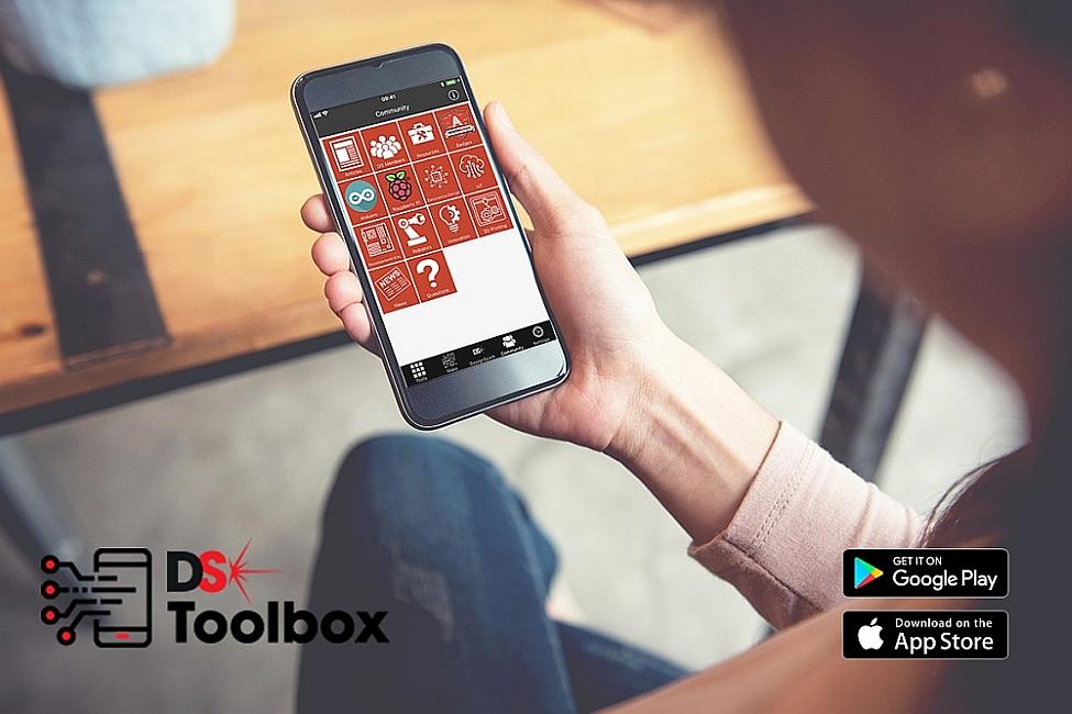 Application DesignSpark Toolbox de RS Components (RS) téléchargeable gratuitement.