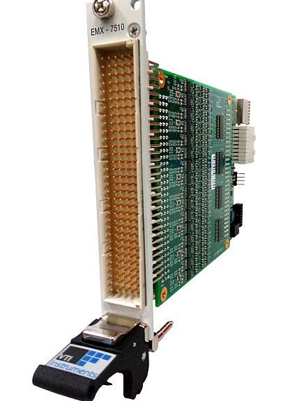 Modules d'E/S numériques au format PXI Express de la série EMX-75XX de VTI Instruments