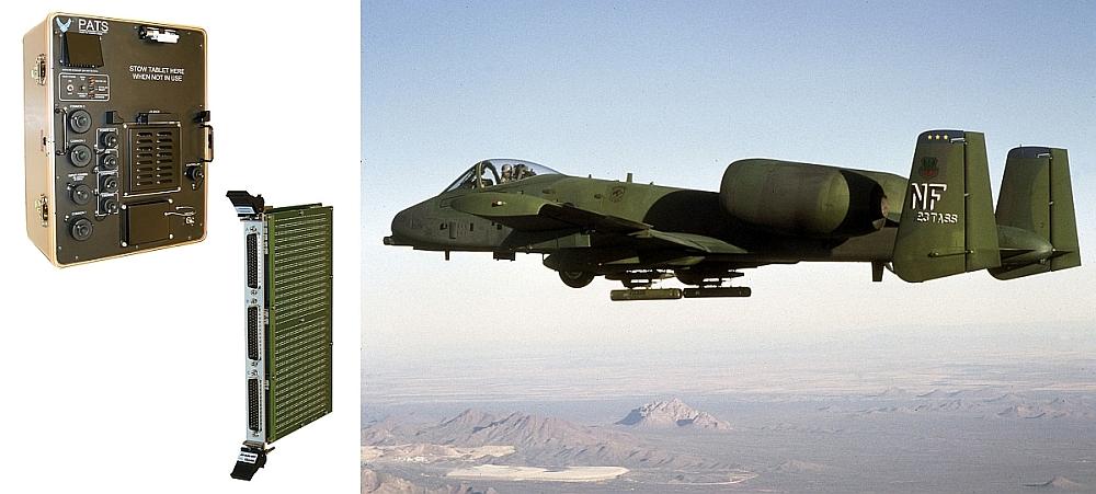 Pickering Interfaces équipe les systèmes de test PATS-70A de l'avion d'attaque a-10C du module de matrice de commutation PXI 45-542.