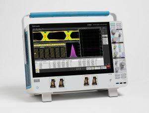 Oscilloscope pour signaux mixtes MSO Serie 6 de Tektronix.