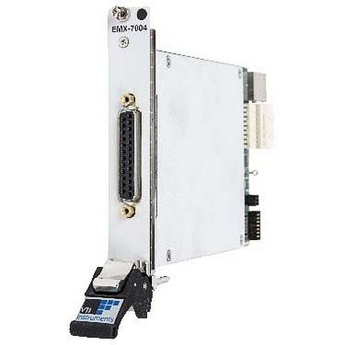 Module PXIe à résistance programmable de précision la série EMX-70XX de VTI Instruments.