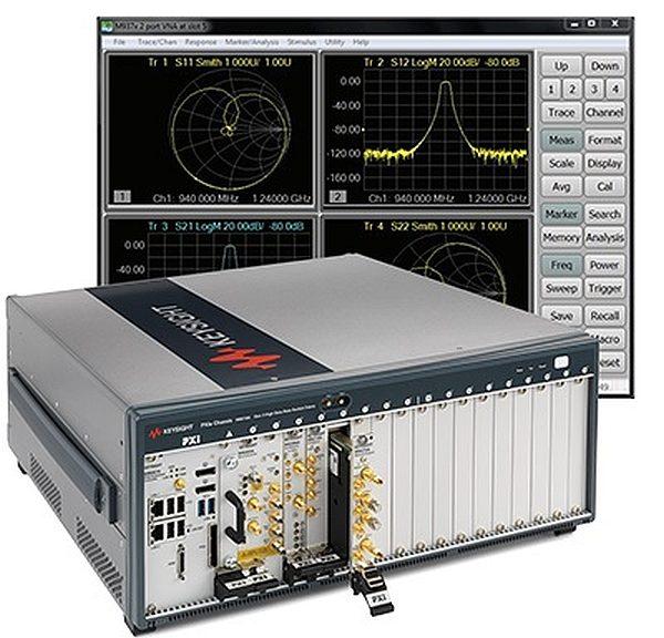 Instrumentation modulaire au format PXI et PXIe de Keysight.