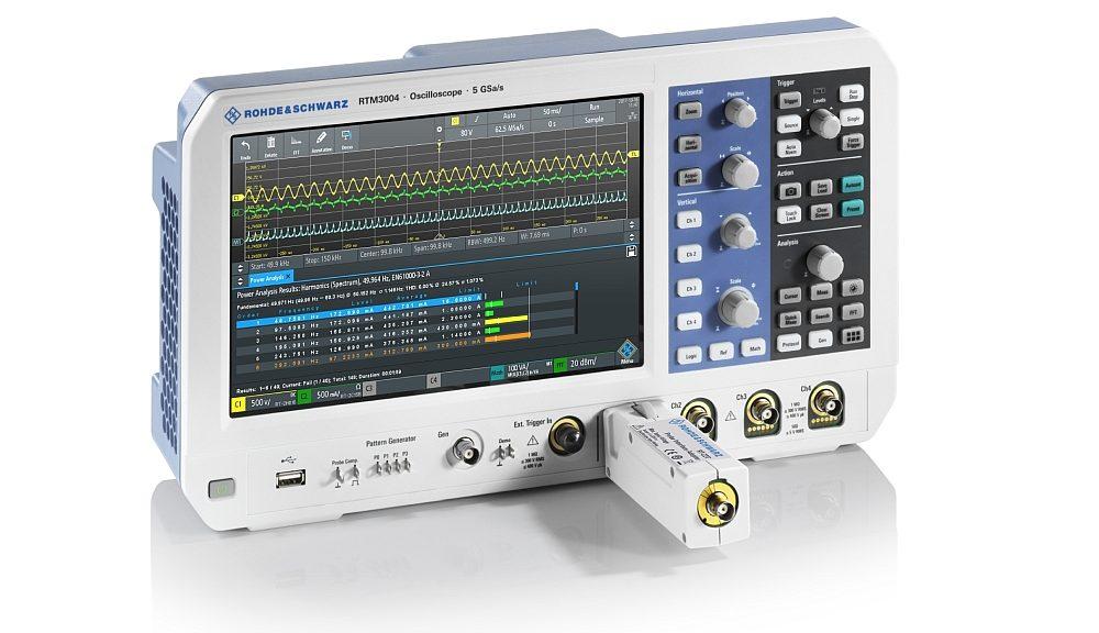 Adaptateur R&S RT-Z2T de Rohde & Schwarz pour les sondes oscilloscopes de Tektronix