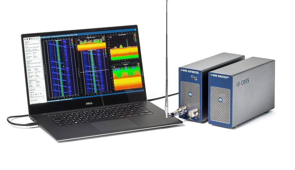 Logiciel DeepView de CRFS pour l'analyse détaillée du spectre RF.