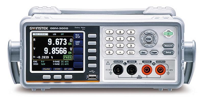 Testeur de batteries GBM-3000 de GW Instek.
