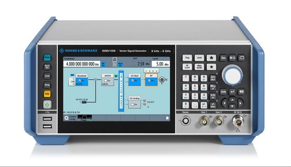 Générateur de signaux vectoriels R&S SMBV100B de Rohde & Schwarz.