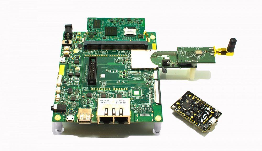 Kit de développement Cloud UL-NXP1S2R2 d'UrsaLeo pour application IoT.