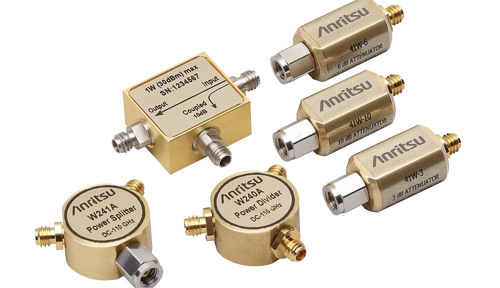 Composants coaxiaux W1 de Anritsu.